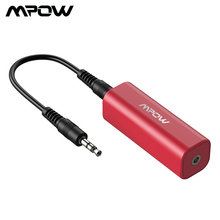 Mpow MA1 Tragbare Mini Boden Schleife Lärm Isolator Für Home Auto Audio Stereo System Noise Reducer Arbeitet mit Bluetooth Empfänger