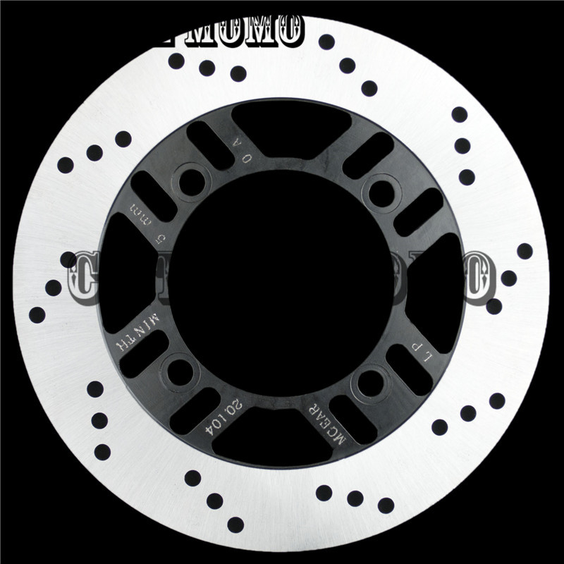 Motorcycle Rear Rotor Brake Disc For Kawasaki ZXR400 89-2000 2001 2001 2003 ZZR400 93-97 98 99 ZZR600 1993-2004 2005 2006 2007 motorcycle part front rear brake disc rotor for yamaha yzf r6 2003 2004 2005 yzfr6 03 04 05 black color