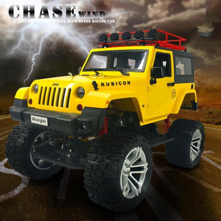 2017 Hot high-end bigfoot off road P405 2.4g 1:10 4WD 46.5cm 20KM/H 20mins Herdsman high speed radio control truck toy vs P401