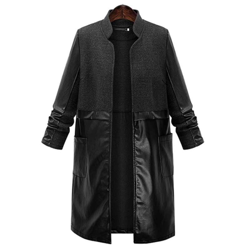 Online Get Cheap Leather Pea Coats -Aliexpress.com | Alibaba Group