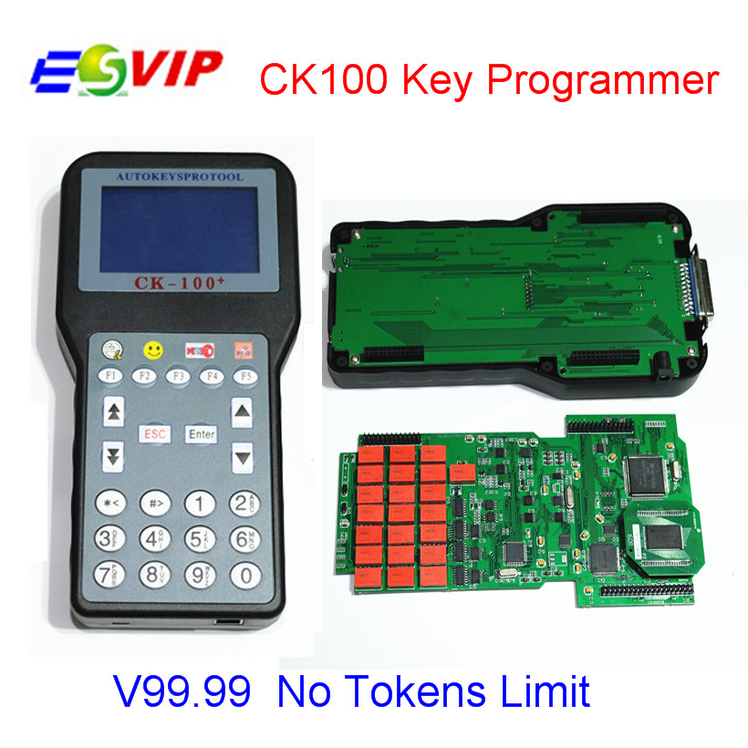 Hot CK100 Auto Key Maker CK 100 V99.99 CK100 Key Programmer CK-100 With Multi-language OBD2 Car Key Programmer CK-100 hot sale ak500 key programmer with eis skc calculator ak500 key programmer with high quality dhl free