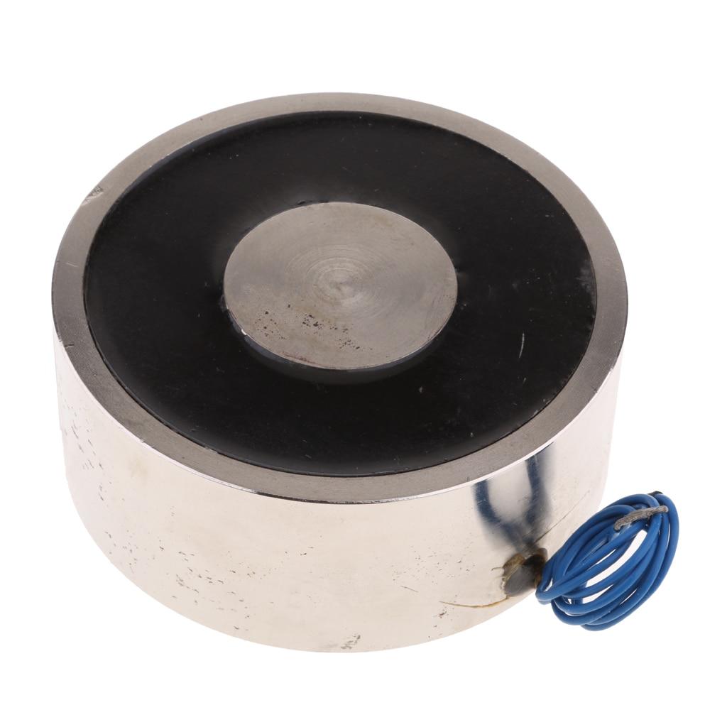 цена на Electric Lifting Magnet Electromagnet Solenoid Lift Holding DC12V 1500N
