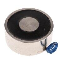 Electric Lifting Magnet Electromagnet Solenoid Lift Holding DC12V 1500N