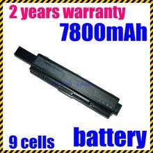 JIGU 6600mAh Laptop Battery FOR Toshiba Satellite Pro A300D L300 L300D L450 L450D L500 L500D L550 A300 9 cells notebook battery