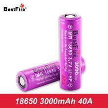 18650 Батарея 40A 3000 mAh Перезаряжаемые Батарея для 18650 мех Mod Vape поле Mod Geekvape Aegis Geekvape Nova VOOPOO перетащите 2 A119