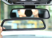 ABS Chrome Interior Rearview Mirror Cover Trim For BMW 3 4 Series X3 X5 X6 F15 F16 F25 F30 F31 F34 F32 F33 F36 E70