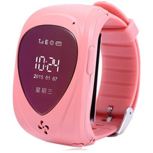 New Arrival Cute Spy GPS GSM Bracelet Watch Tracker For Kids With SOS Alarm Support Android & IOS Quad Band SIM Card Wristwatch