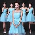 Customized Purple Bridesmaids cheap summer gowns 2016 Plus size bridesmaid Dresses all colors and sizes vestidos de festa