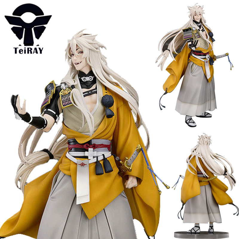 Game Touken Ranbu Online Kogitsunemaru Fox Ball Figma Japanese anime Pvc Action Figure Toy Juguetes Kids toys Birthday Gift 9.4 new hot 20cm touken ranbu online hotarumaru action figure toys collection christmas toy doll