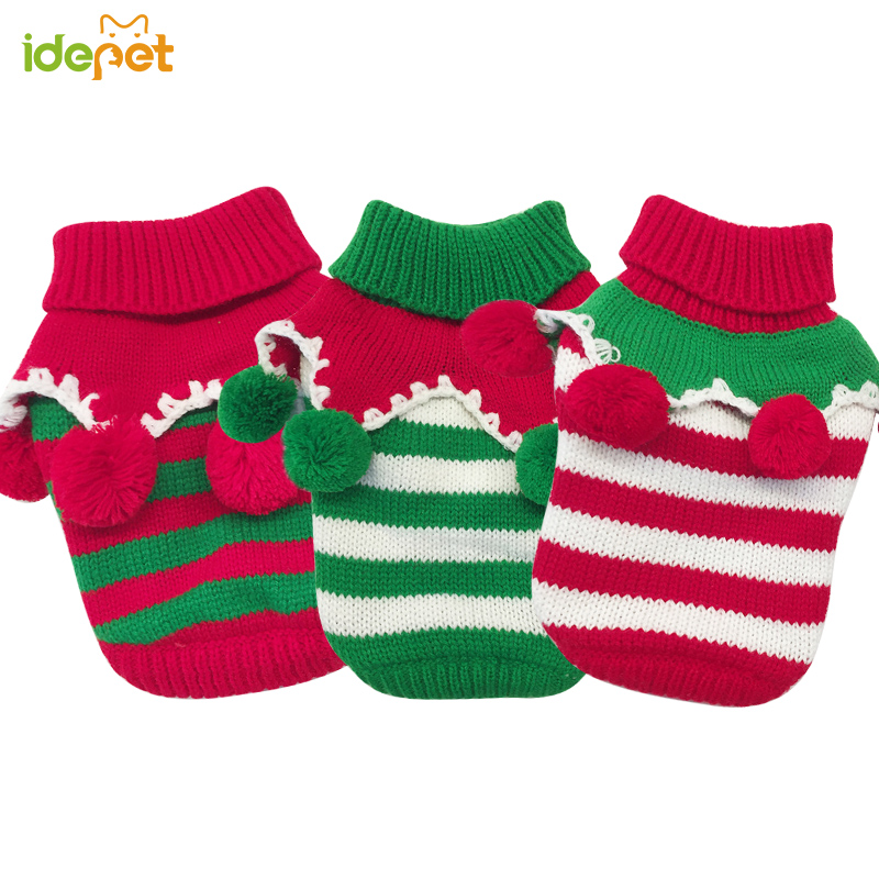 Christmas Sweater Dog Winter Warm Clothes Coat Pet Clothing Warm Comfy Clothes for Cats Ugly Christmas Sweater for Pet 25 in Dog Sweaters from Home Garden