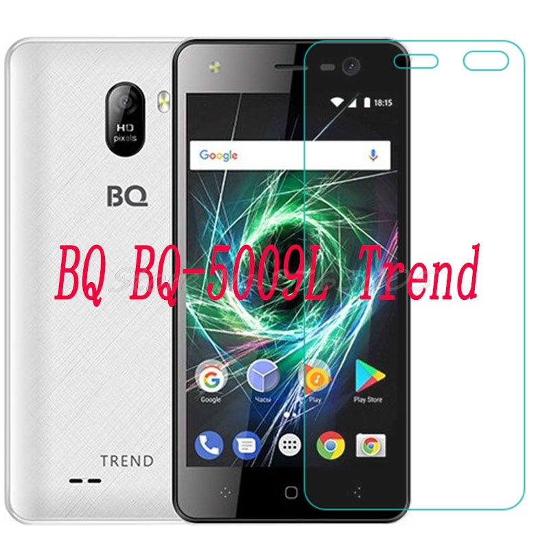 NEW Ultra-thin New For BQ BQ-5009L Trend 5009L Tempered Glass Screen Protector Premium Front Clear Protective Film CoverNEW Ultra-thin New For BQ BQ-5009L Trend 5009L Tempered Glass Screen Protector Premium Front Clear Protective Film Cover