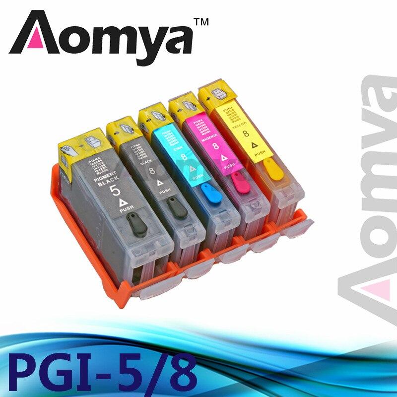 PGI5BK/CLI-8 BK/CLI-8C/CLI-8M/CLI-8Y полный чернил многоразового картридж для CANON PIXMA ip3300/ix4000/ix5000 Pgi-5