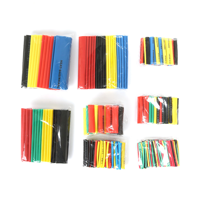 2018 New 328pcs Assorted Electrical Wire Terminals Insulated Crimp Connector Spade Ring Set