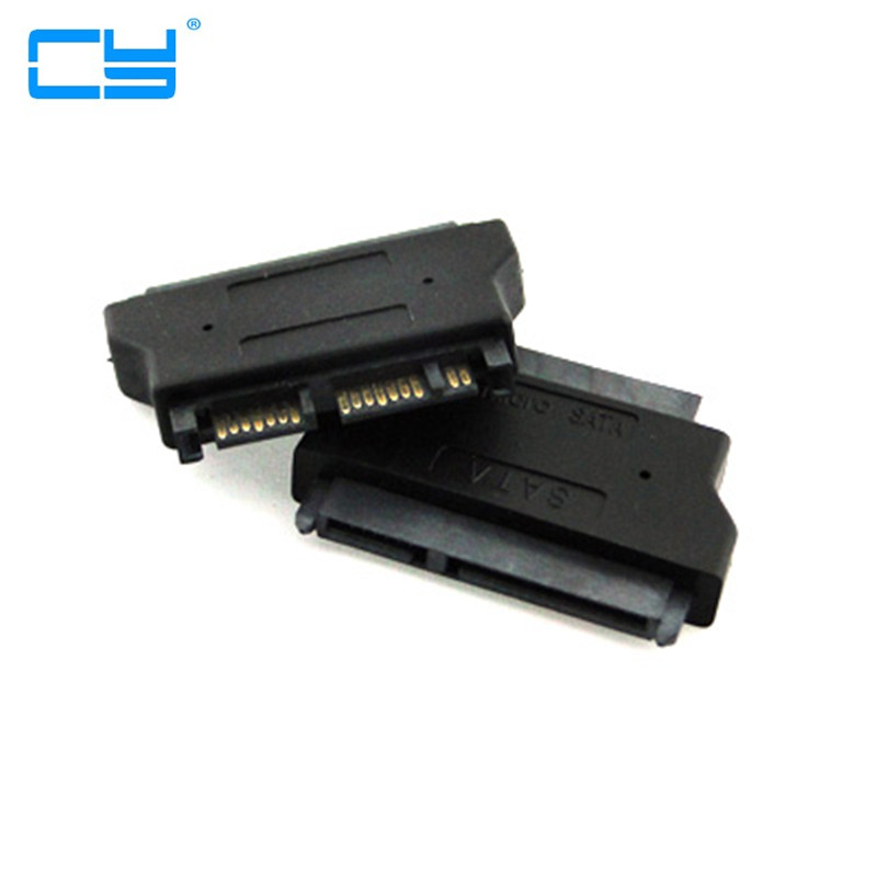 2.5 IN SATA 22 pin Female to 1.8 IN Micro SATA 16 pin Male 3.3V Adapter convertor for Hard Disk Drive SSD portable sata male jack to esata female plug convert convertor adapter connector for hdd hard drive