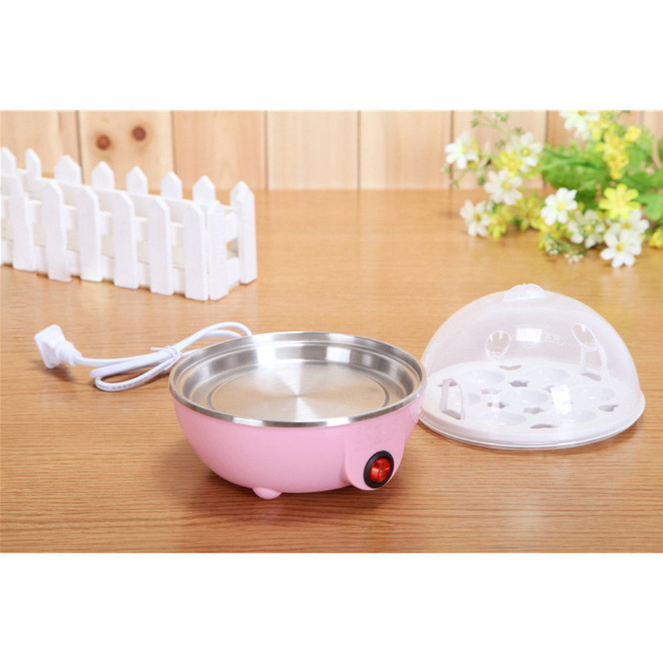 US Plug Multi function Electric Egg Cooker for up to 7 Eggs Cooker Boiler Steamer Cooking