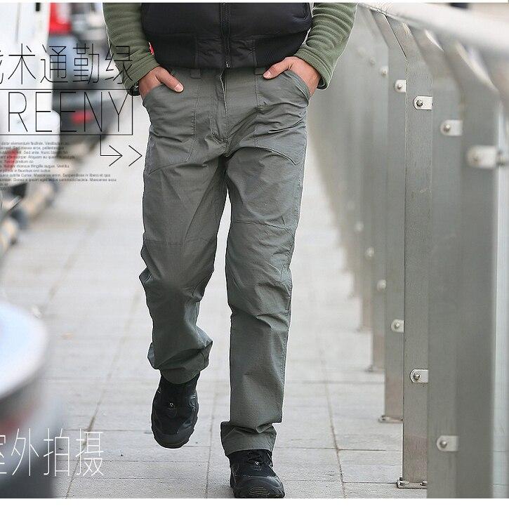 New IX10 Militar Urban Tactical Pants Tefon Rip stop Army Combat Train Cargo Military Pants