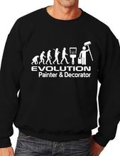 Evolution Of Painter & Decorator Funny Sweatshirt Jumper Birthday Gift More Size and Color-E178