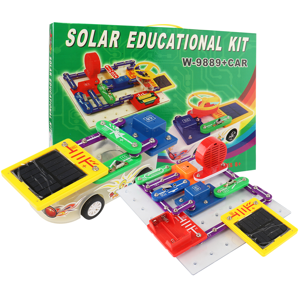 Electronic Building Blocks Science Education Toys Creative
