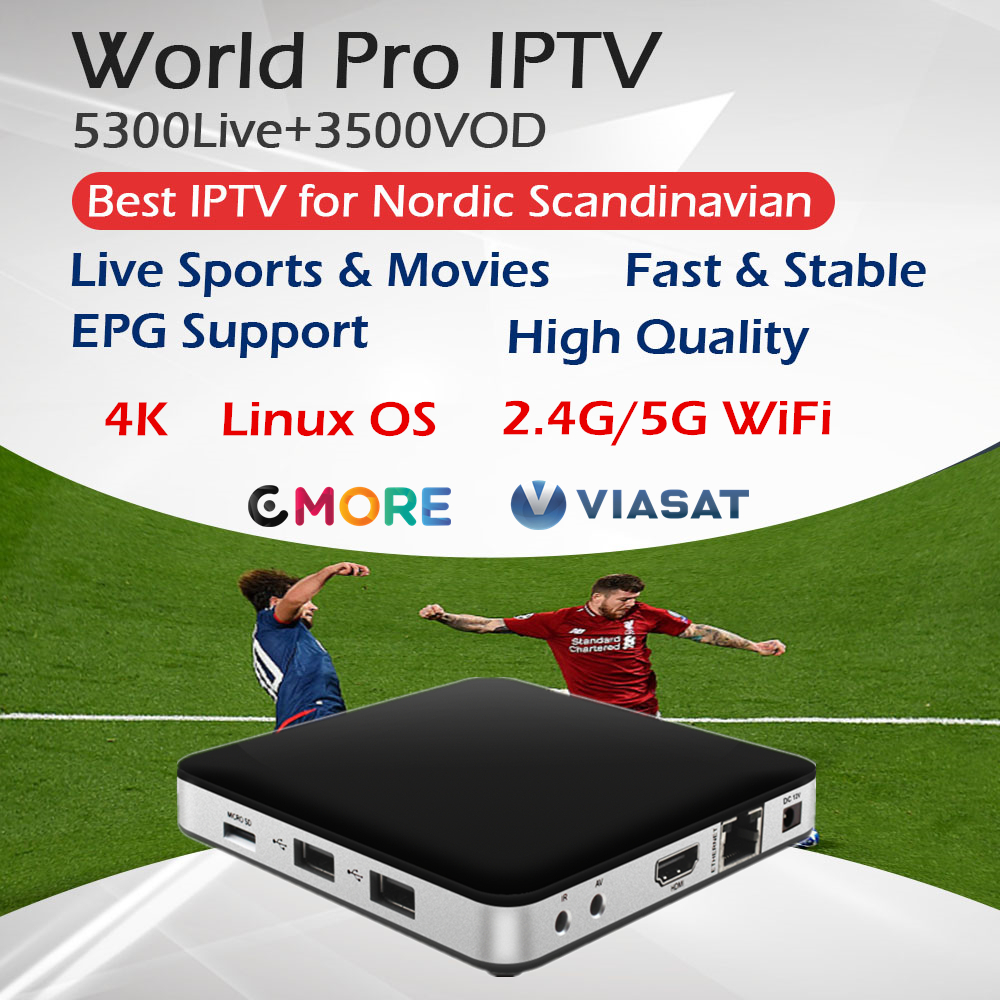 Tvip 605 The Best Scandinavia Iptv Dual OS Android Linux Amlogic S905X 2 0Ghz 2 4G