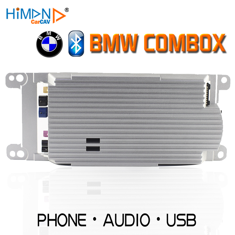 US $149 0 |Himan CARCAV for BMW COMBOX E90 E60 E84 E70 E84 E89 E92 E93  BLUETOOTH TELEMATICS MUSIC COMBOX 9257160-in Multichannel Amplifiers from