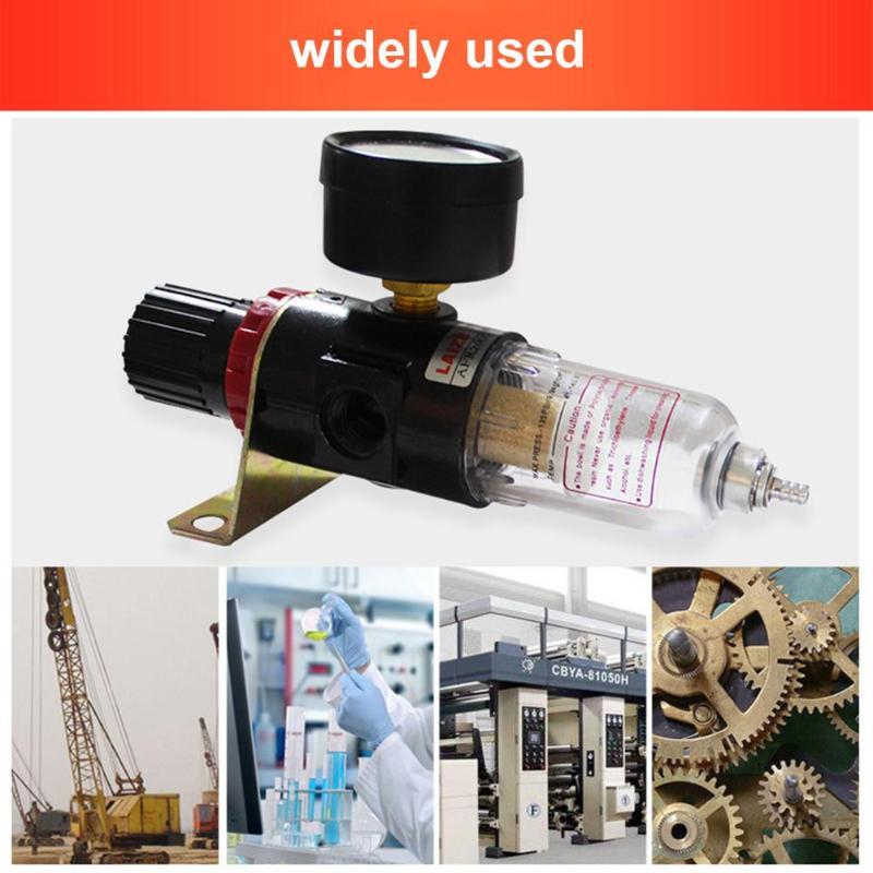 AFR-2000 Pneumatic Parts Oil Filter Air Treatment Unit Pressure Regulator Oil Water Separation AFR2000 Gauge