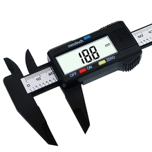 Buy 150mm 6inch LCD Digital Electronic Carbon Fiber Vernier Caliper Gauge Micrometer free shipping Digital Caliper