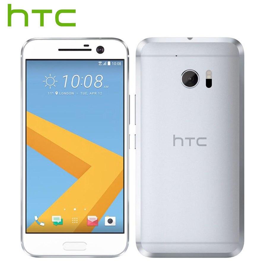 Original Brand New HTC 10 mode de Vie LTE 4g Android Mobile Téléphone 5.2 pouce 3 gb RAM 32 gb Snapdragon 652 Octa Core 12MP Téléphone Intelligent