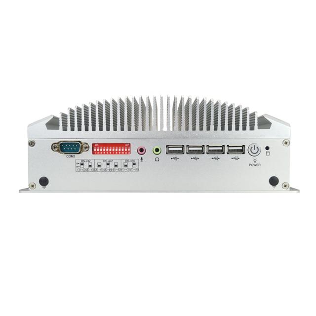 Intel celeron J3160 quad core IPC avec 6 ports série 2 Lan pour pare-feu (avec SDD WIFI 8G 256G mSATA)