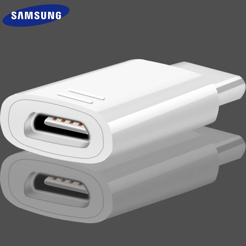 Samsung Note9 Micro USB To USB Type C Adapter Converter Original Supercharge Charger Adapter Charging S9 S8 Plus C5 C7 C9 Pro
