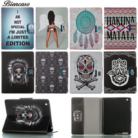 Skeleton Case For IPad 4 3 2 9 7 Inch Magnetic With Stand PU Leather Cover