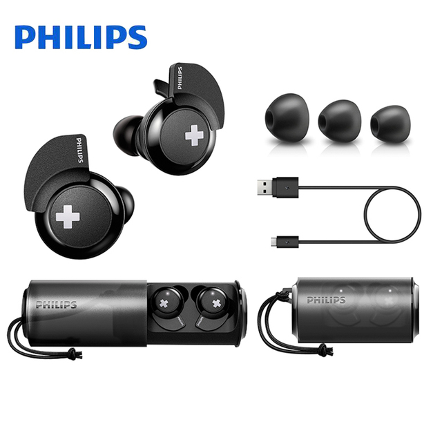 Philips Wireless Headset SHB4385 Accessories Headphone Accessories Headphones color: BLACK
