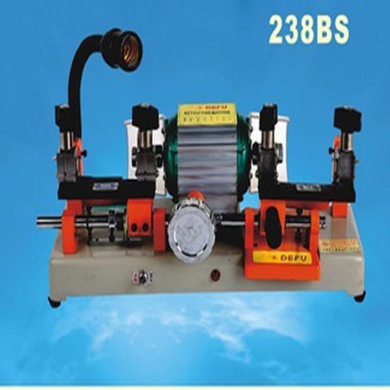 1 шт. 220 В/50 Гц или 110 В/60 Гц модель 238bs ключ для резки ключ abloy машина двойная головка ключ машина