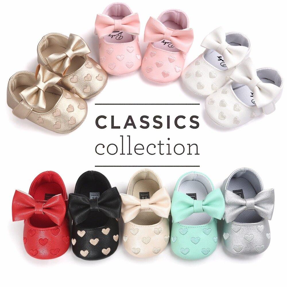 Nowe Baby Girl Shoes Buciki Lovely Princess antypoślizgowe Niemowlę - Buty dziecięce - Zdjęcie 2