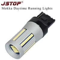 JSTOP Mokka Led Daytime Running Lamp 7440 Day Bulbs 12VAC 6000K Canbus Light 100 No Errors