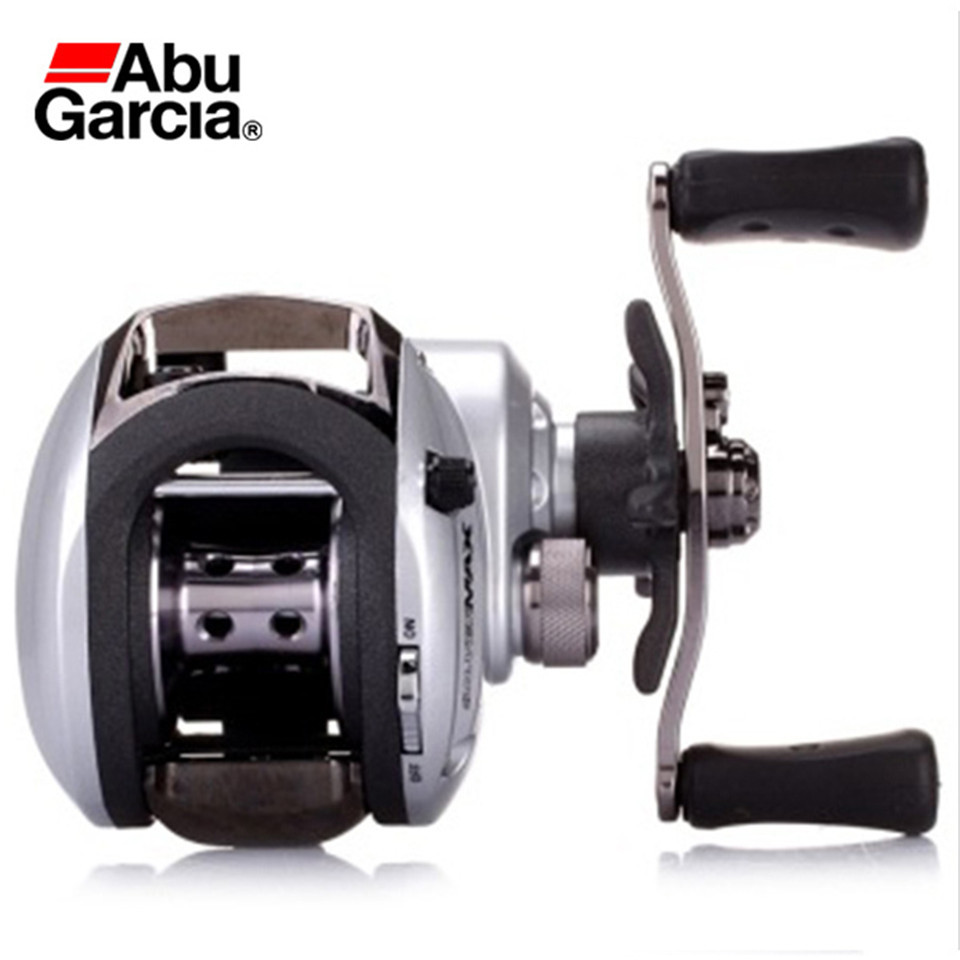 Abu Garcia Left Rght hand Carretilha Bait casting Fishing Reel Gear Magnetic Brake System 6BB 6.4:1 Bait Cast Fishing Coil Wheel nunatak original 2017 baitcasting fishing reel t3 mx 1016sh 5 0kg 6 1bb 7 1 1 right hand casting fishing reels saltwater wheel