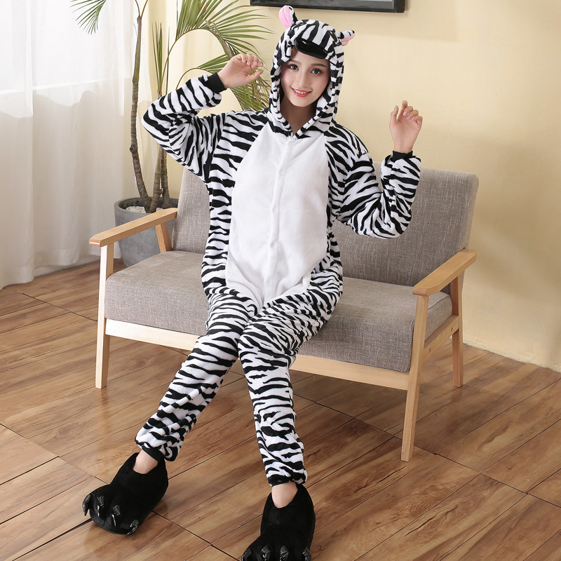 zebra sleepwear for winter