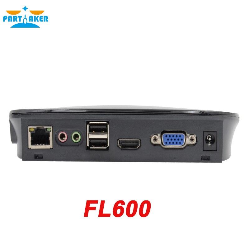 Fl600 partaker mini pc con terminal de la nube rdp 8.0 quad core procesador de 1