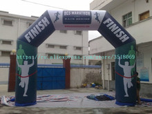 купить PVC airtight inflatable arch for sale, logo customizable, with air pump, suitable for commercial advertising campaigns по цене 37776.1 рублей