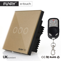 UK Standard FUNRY 3 Gang Remote Switch Smart Control On Off For Smart Home Smart Wall