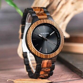 Reloj madera para hombre pulso madera 1