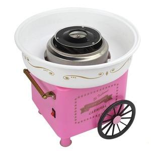 Image 3 - 뜨거운! 미니 달콤한 자동 솜사탕 기계 홈 Diy 솜사탕 기계 설탕 기계