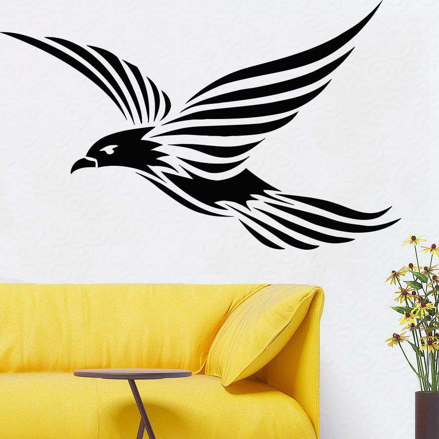Fancy Flying Birds Wall Art Frieze - Wall Art Collections ...