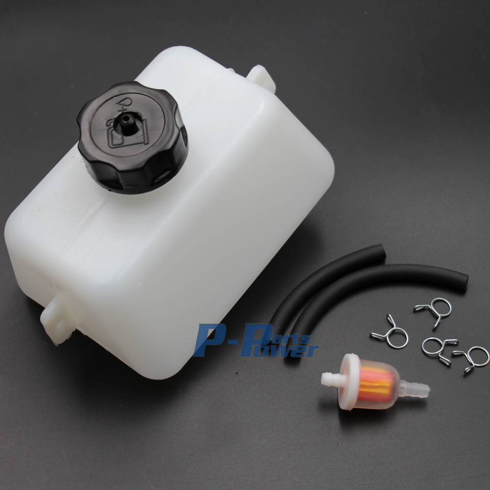Gas Tank Kraftstofffilter 2 Hub Mini Pocket Bike Mini Dirt Bike Scooter 33cc 43cc 47cc 49cc Neue