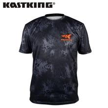 KastKing Fishing T Shirt Summer Man Short Sleeve Fishing Clothing Outdoor Sport Breathable Fishing Clothes