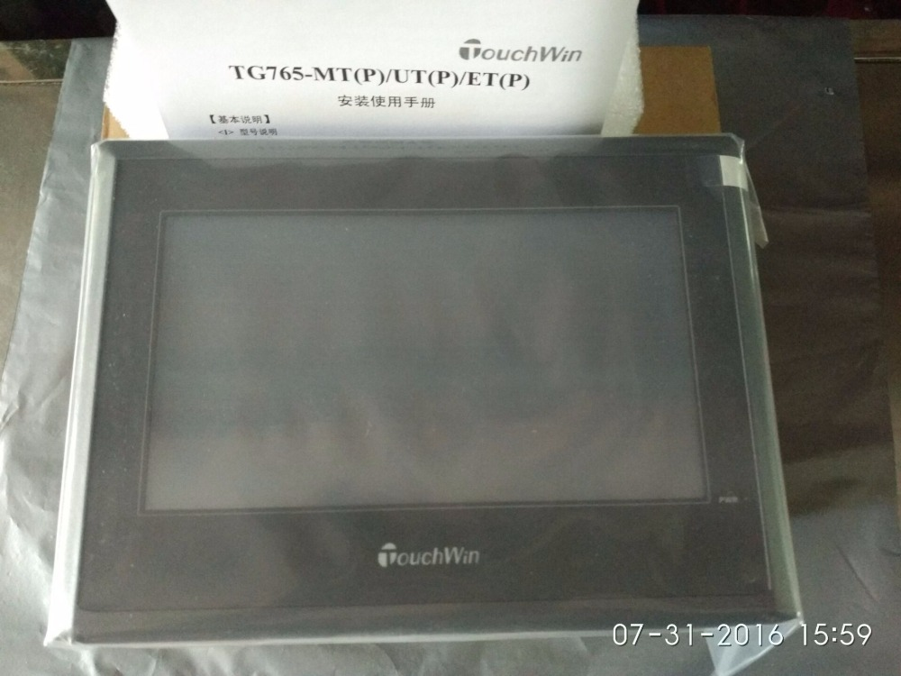 HMI Touch Screen TG765-MT 7 inch 800*480 well tested working three months warranty