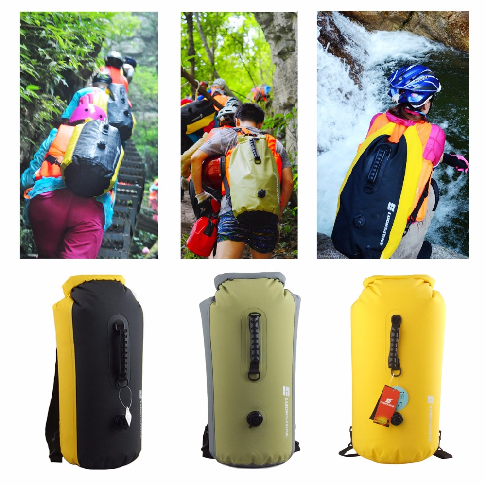 60L High Quality Outdoor Waterproof Bags Ultralight Drifting Rafting Canoe Swimming Camping Hiking Dry Bag Pouch for winter outdoor swimming beach drifting waterproof bag blue 1 5l