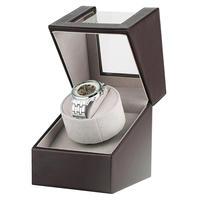 Two Modes Automatic Motor Shaker Single Watch Winder Wooden Box Case for Mechanical Watches AU/EU/US/UK Plug horloge winder