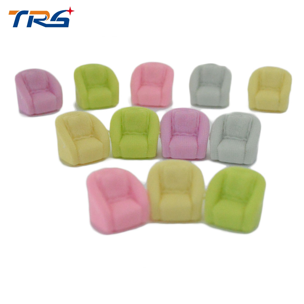 20pcs Mixed Color Dollhouse Miniature Mini Toys Model Plastic Sofa HO Scale 1 50 Sand Table Landscape Layout in Model Building Kits from Toys Hobbies