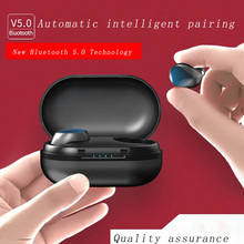 Smart Bluetooth 5.0 earphones Biaural earbuds wireless Stereo noise reduction Waterproof Touch control Siri Voice Charging Box hifi smart bluetooth earphones biaural stereo surround sound denoise waterproof charging box hd call biaural separation design