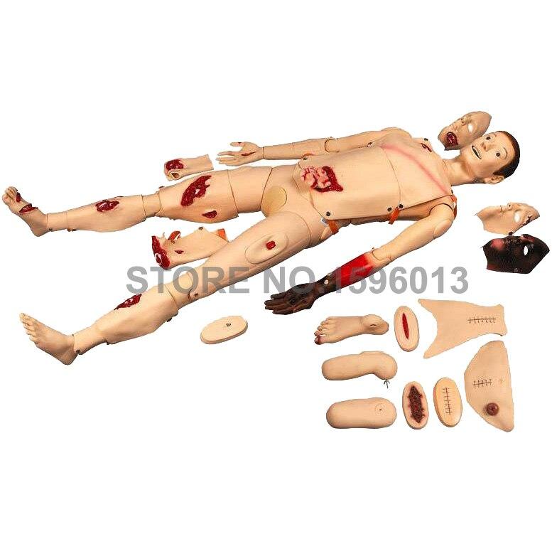 On Sale Trauma Simulator, Nursing Training Simulator,Wound Care Training Manikin dr emmo s wound care wash 8 ounce